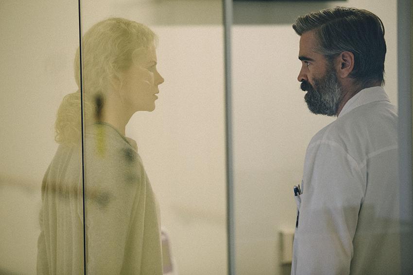 The Killing of a Sacred Deer Nicole Kidman and Colin Farrell image