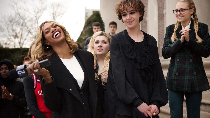 Freak Show Laverne Cox, Abigail Breslin and Alex Lawther image