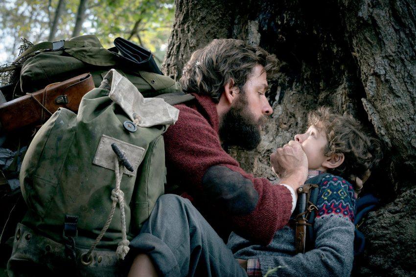 A Quiet Place John Krasinski and Noah Jupe image