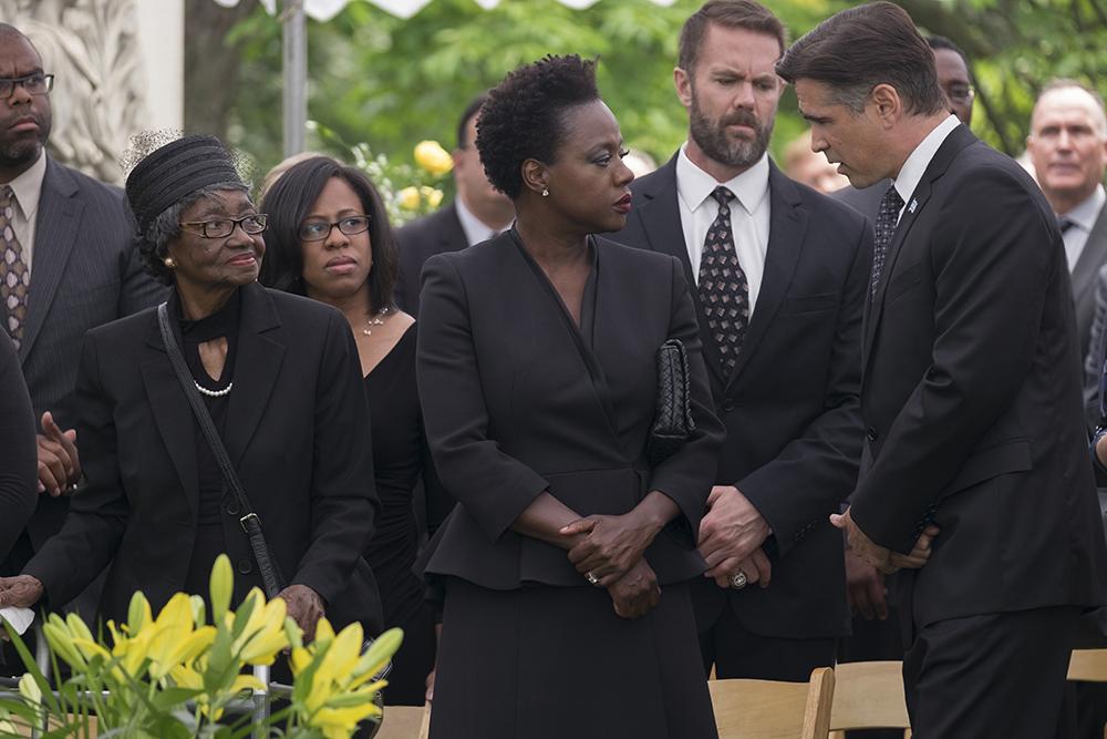Widows Viola Davis and Colin Farrell image