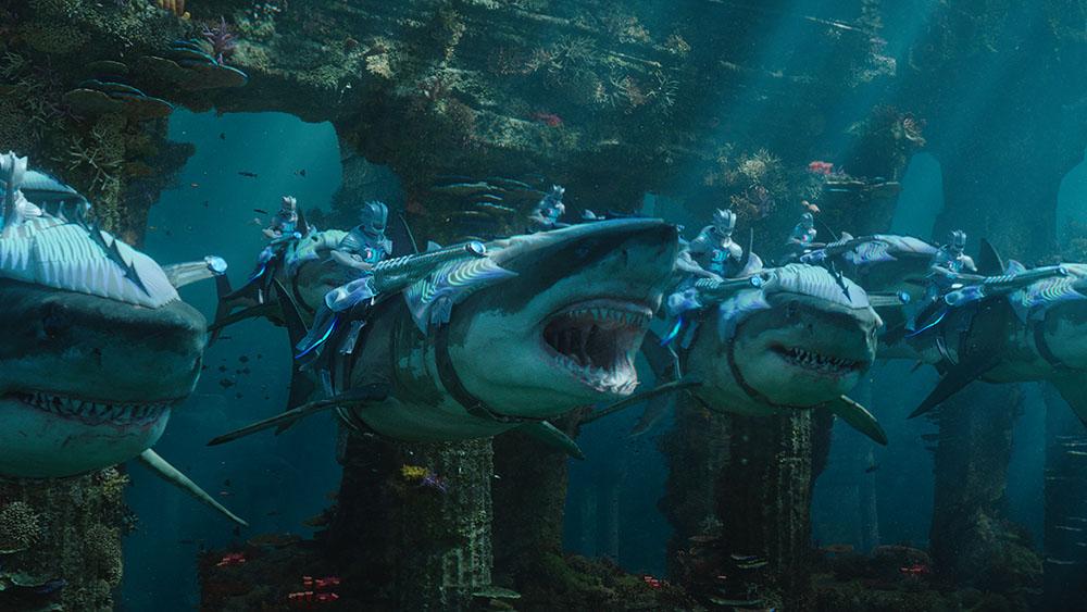 Aquaman Shark Warriors image