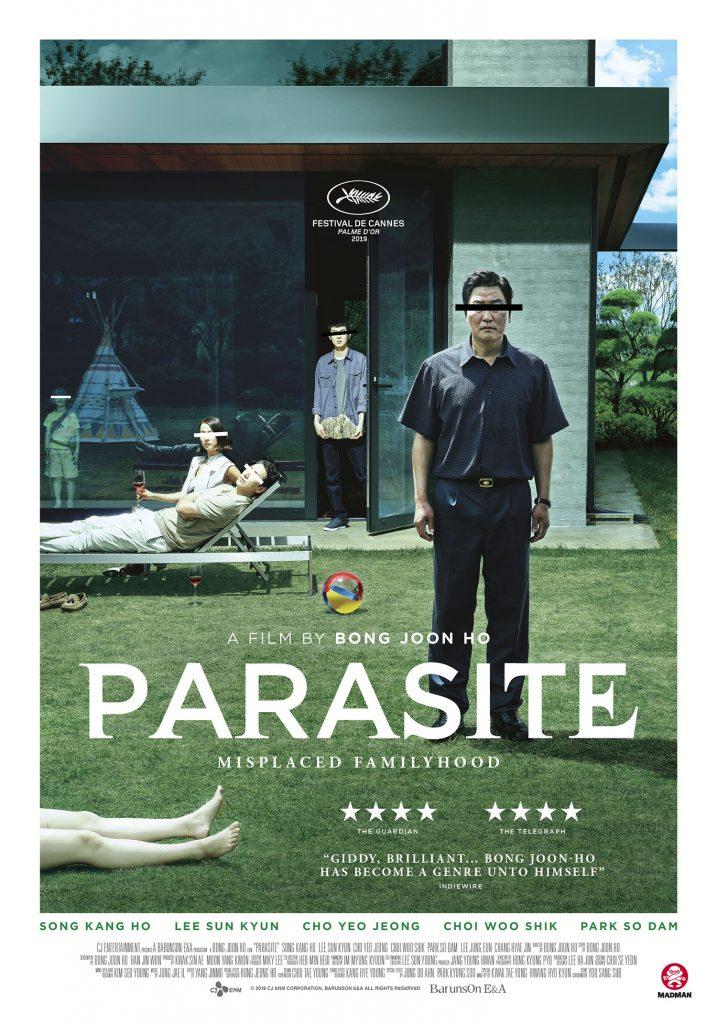 Parasite movie poster image