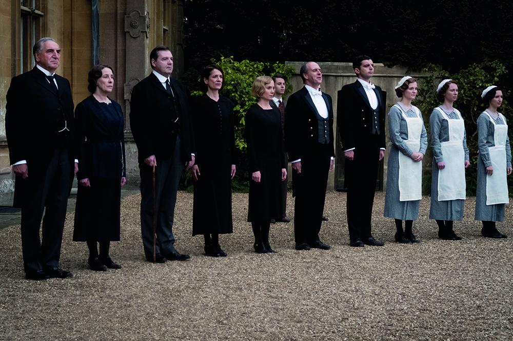 Downton Abbey Head Wait Staff