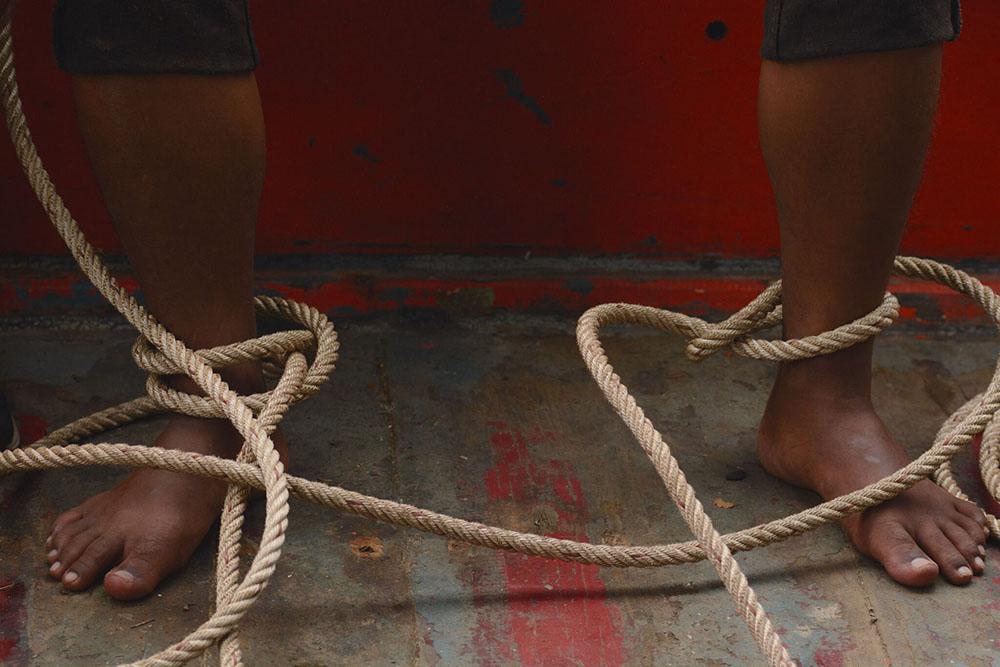 Buoyancy Slave Torture image