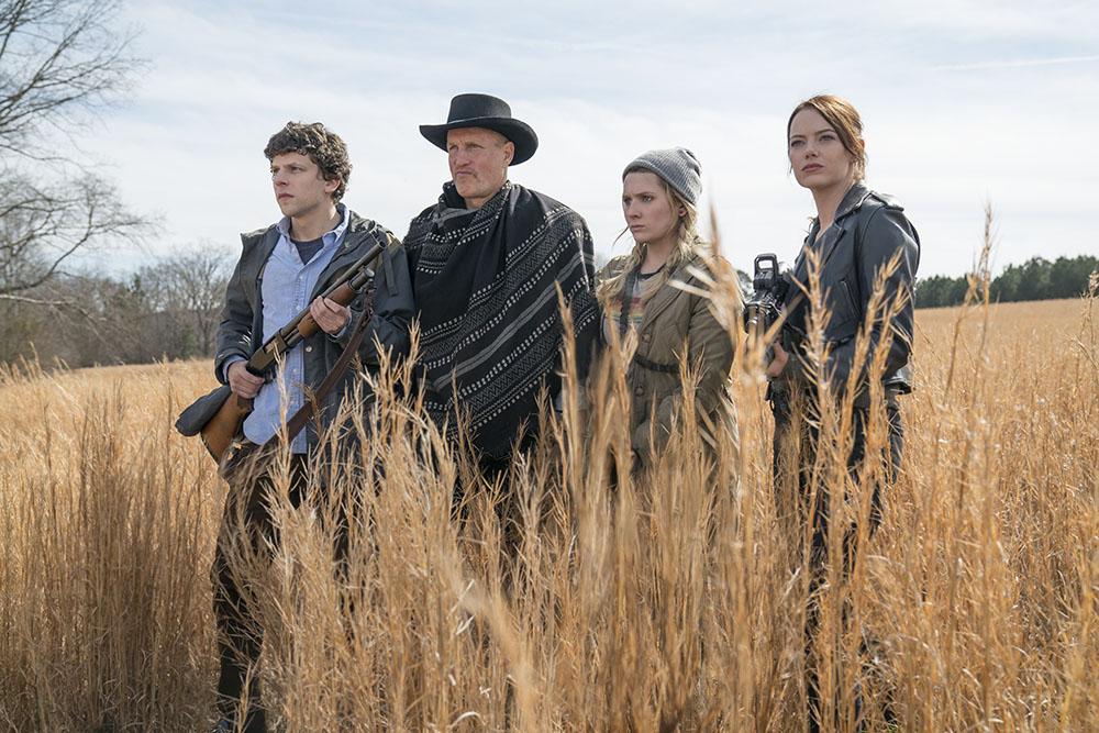 Zombieland: Double Tap Jesse Eisenberg, Woody Harrelson, Abigail Breslin and Emma Stone
