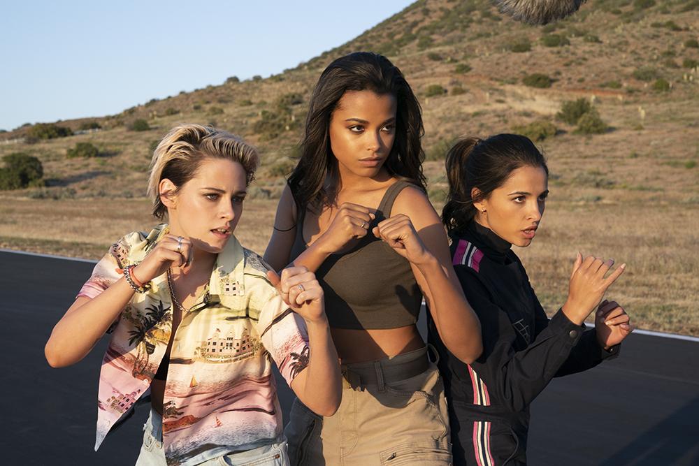 Charlie's Angels Kristen Stewart, Ella Balinska and Naomi Scott image