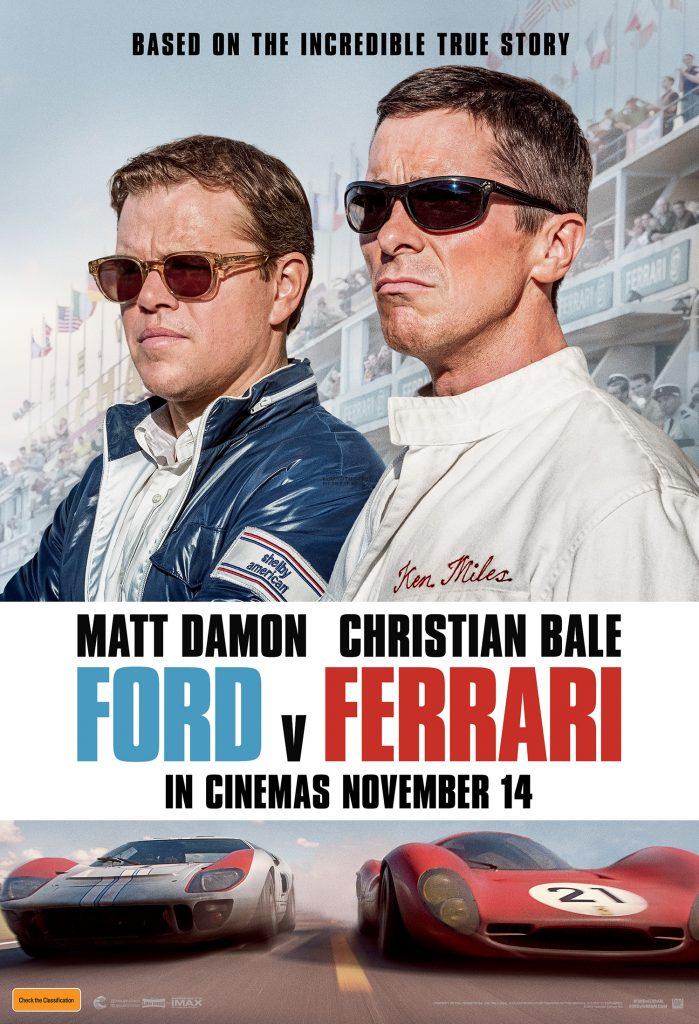 Ford V Ferrari Movie Poster image